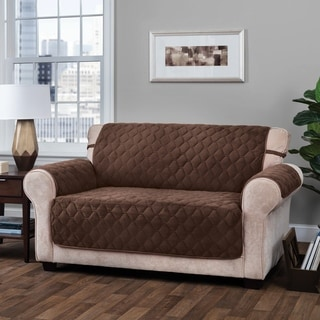 ITS Logan Solid Plush XL Sofa Furniture Protector