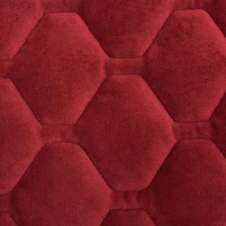 ITS Logan Solid Plush Loveseat Furniture Protector (Loveseat - Burgundy)
