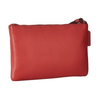 Coach Small Leather Wristlet (2 options available)