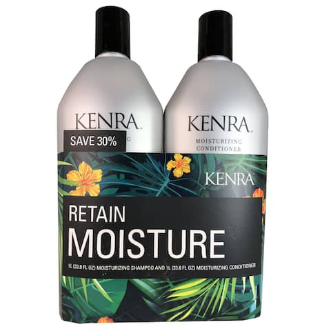 Kenra Moisturizing 33.8-ounce Shampoo & Conditioner Duo