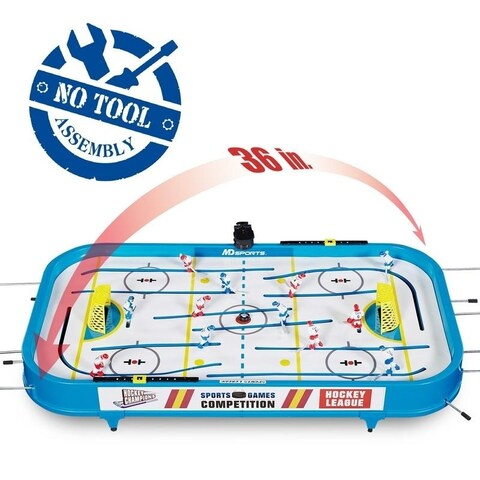 "MD Sports 36"" Table Top Rod Hockey"