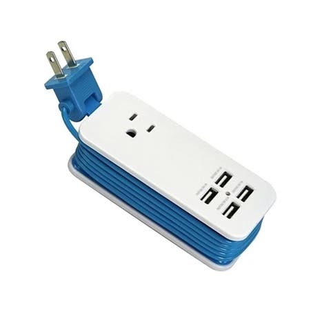 F.S.D Portable Charging Station with 4 USB Ports