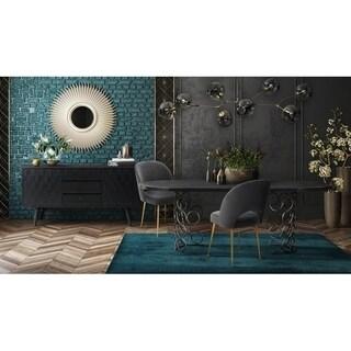 Valentina Black Dining Table