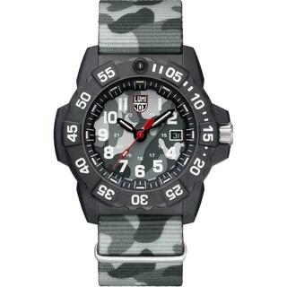 Luminox Men's 3507.ph Navy Seal Carbon Camo Nylon Strap Watch - N/A
