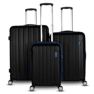Gabbiano Hola Collection 3 Piece Expandable Hardside Luggage Set