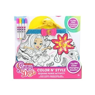 Nickelodeon Sunny Day Color N' Style Sequin Purse Craft Activity