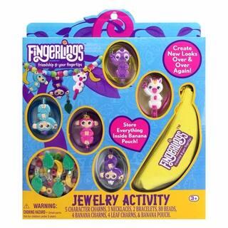 Fingerlings Jewelry Activity Craft Set