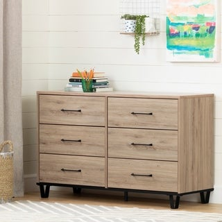 South Shore Fakto 6-Drawer Double Dresser