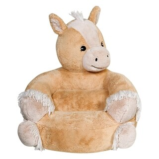 Children's Plush Pony Character Chair