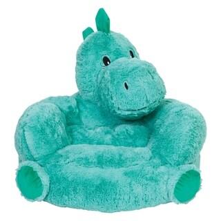 Children's Plush Dinosaur Character Chair