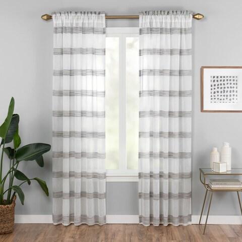 Vue Elements Kyoto Semi-Sheer Curtain Panel