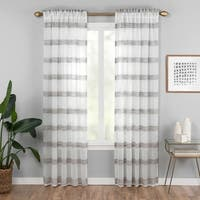 Vue Elements Kyoto Semi-Sheer Curtain Panel