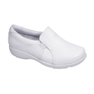 24 HOUR COMFORT Kerry Women Extra Wide Width Classic Slip On Shoes