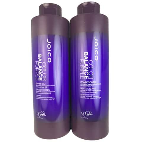 Joico Color Balance Purple 33.8-ounce Shampoo & Conditioner Duo