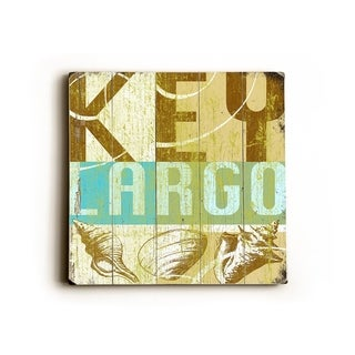 Key Largo -   Planked Wood Wall Decor by Cory Steffen