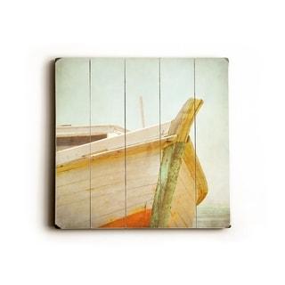 Live Free -   Planked Wood Wall Decor by Eva Ricci