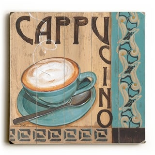 Cappucino -   Planked Wood Wall Decor by Debbie DeWitt