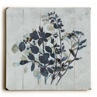 Undergrowth -   Planked Wood Wall Decor by Terry Fan