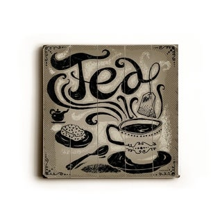 Tea -   Planked Wood Wall Decor by Peter Horjus