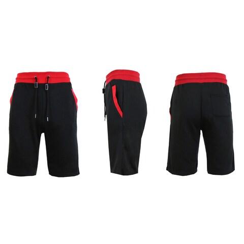 Galaxy By Harvic Men's Basic Casual Sweat Shorts