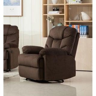 Albert Gliding Reclining Chair (Brown)