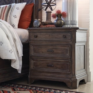 Jefferson Market Traditional Aged Whiskey Drawer Nightstand