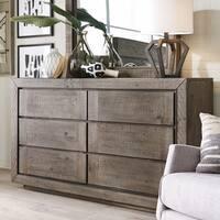 Granada Hills Contemporary Pebblestone Dresser