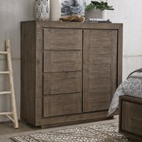 Granada Hills Contemporary Pebblestone Door Chest