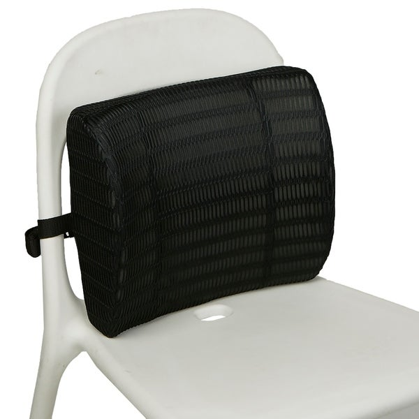 7b9e0f07486 ... Office Chair Supports   Rests. Mind Reader Memory Foam Lumbar Support Back  Cushion with Mesh Cover Balanced Firmness Designed for Lower