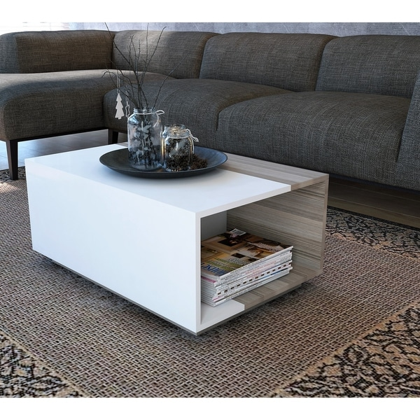 Decorotika Surprise Modern Coffee And Tail Table