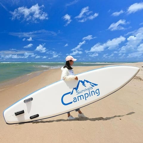 """KS-SP1009 12"""" Inflatable SUP Stand-Up Paddle Board Set"""