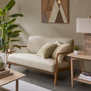 INK+IVY Novak Cream Loveseat
