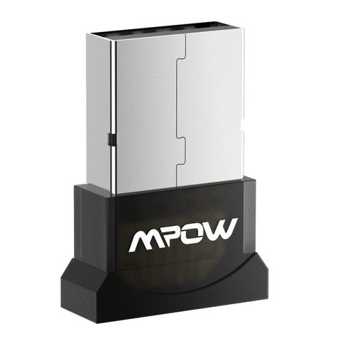 Mpow Upgraded Bluetooth USB Adapter USB Dongle 4.0 for Laptop PC Desktop Windows