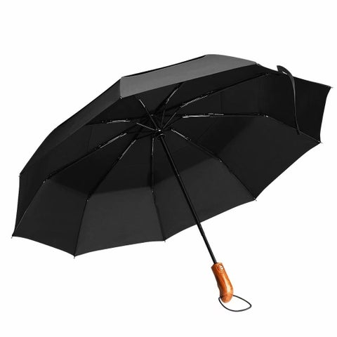 Rain Umbrellas Travel Umbrellas Auto Open/Close for One Hand Operation - L