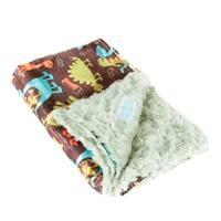 AllyZabba Dino Blanket Small - Kiwi