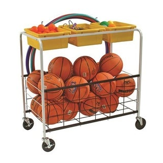 Copernicus Physical Education Cart with Metal Basket