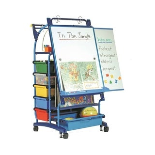 Copernicus Premium Royal Inspiration Station Teaching Easel with Magnetic Dry Erase Board
