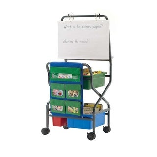 Copernicus Teacher Trolley with Removable Magnetic Dry Erase White Board