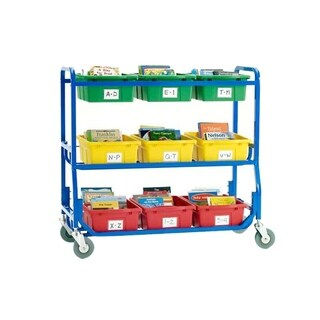 Copernicus Library on Wheels Rolling Cart
