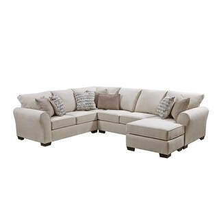 Simmons Upholstery Britton Sectional Sofa Sleeper