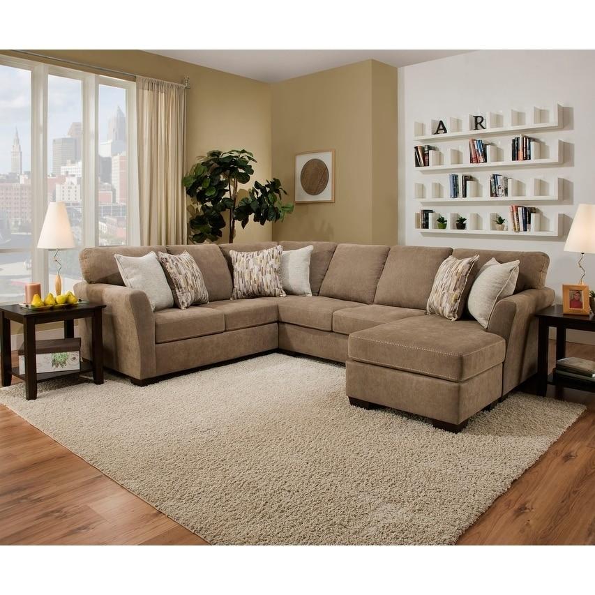 Simmons Upholstery Michigan Sectional Sofa