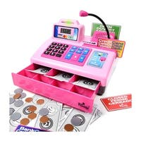 Ben Franklin Talking Cash Register- Pink