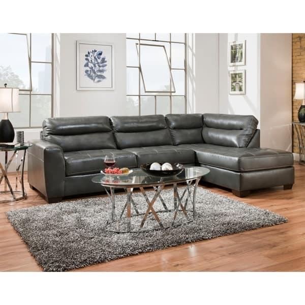 Shop Simmons Upholstery Northwood Sectional Sofa On Sale