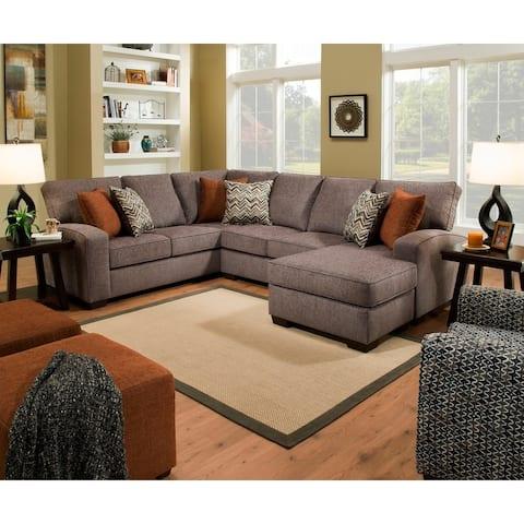 Simmons Upholstery Oasis Sectional Sofa