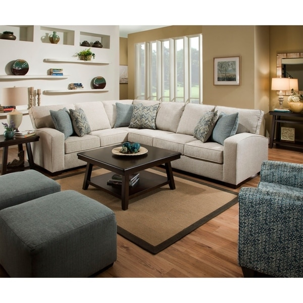 Simmons Upholstery Roseville Sectional Sofa