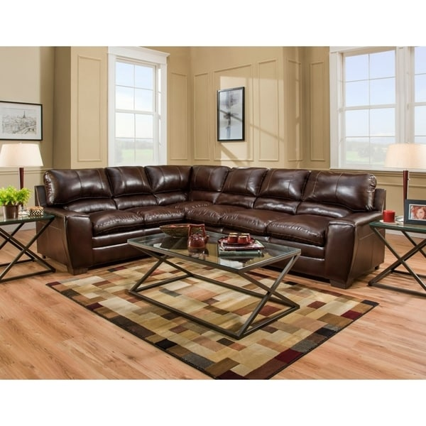 Shop Simmons Upholstery Jacksonville Sectional Sofa