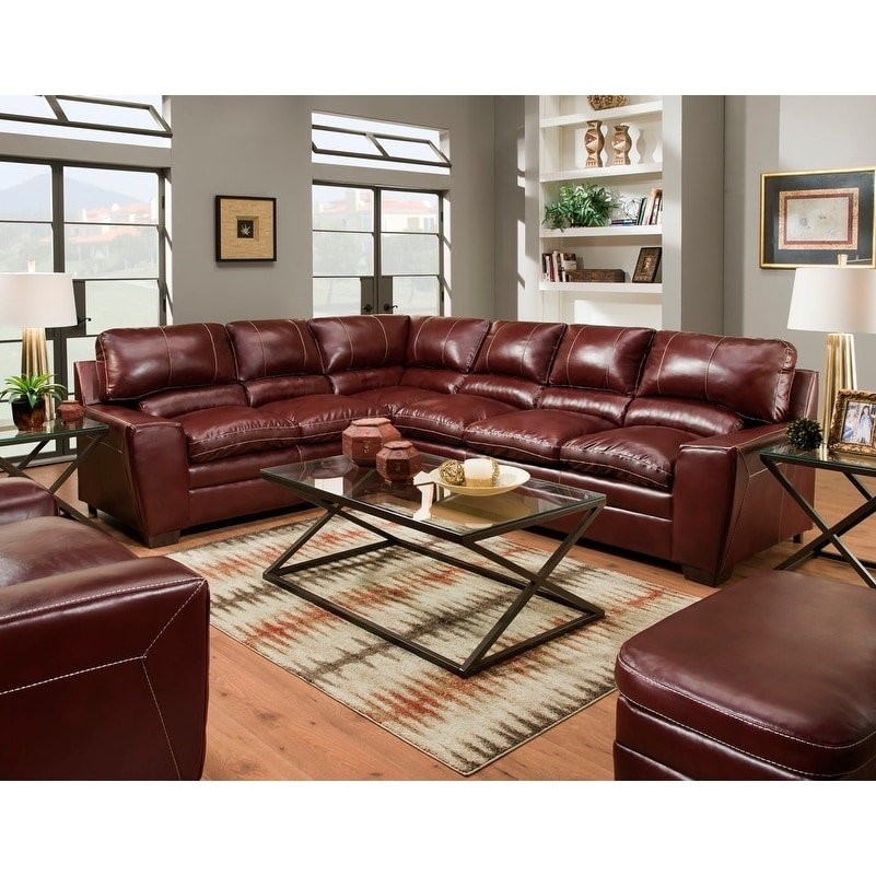 Simmons Upholstery Charlotte Sectional Sofa