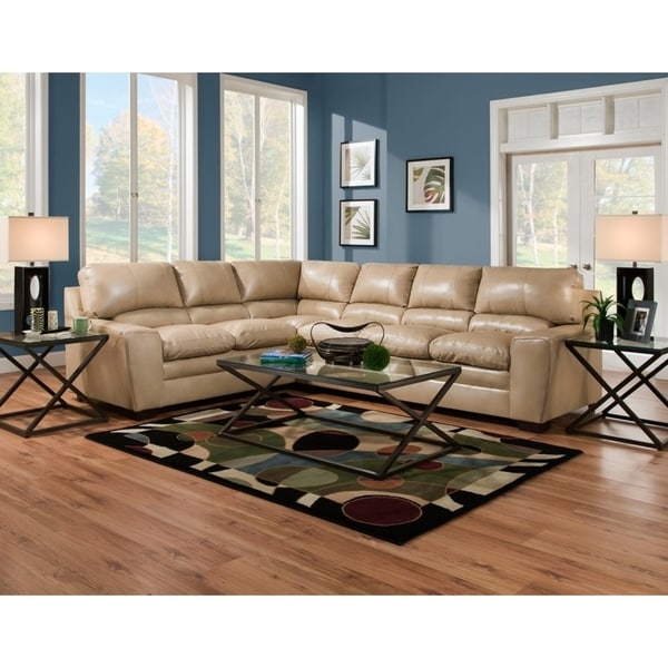 Simmons Upholstery Columbia Sectional Sofa