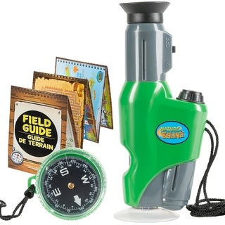 Nature Bound Field Microscope with Compass