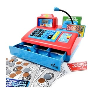 Ben Franklin Talking Cash Register - Red